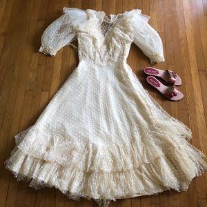 Stunning Vintage Western Dress Sz 10